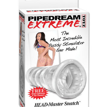 Pipedream Extreme Head-master Anal Snatch