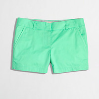 "Factory 4"" chino short - Shorts - FactoryWomen's Shop By Category - J.Crew Factory"