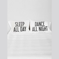 Dance All Night Pillow Case Set - Gypsy Warrior