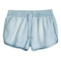 H&M Lyocell Denim Shorts $19.95
