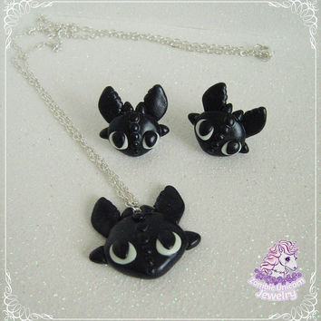 Toothless jewelry set