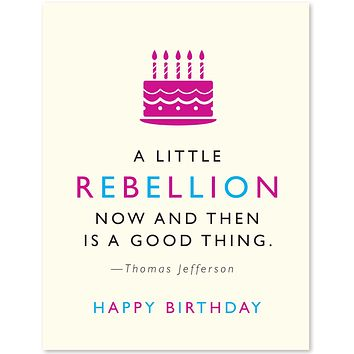 Rebellion, Birthday (Jefferson)