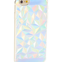 Iridescent 3-D Triangles Hard Case for iPhone