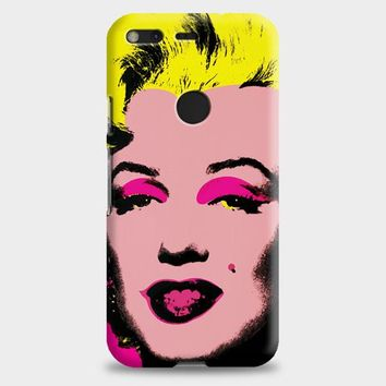 Andy Warhol Marilyn Monroe Pop Art Iconic Colorful Superstar Cute Google Pixel XL Case