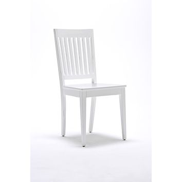 Halifax Dining Chair (set of 2) White semi-gloss