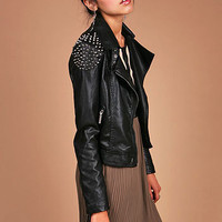 Heavy Metal Moto Jacket | Studded Jackets at Pink Ice