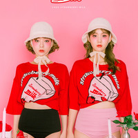 Strawberry Milk Strawberry Taste Knit