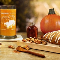 Pumpkin Scone Ring Candle
