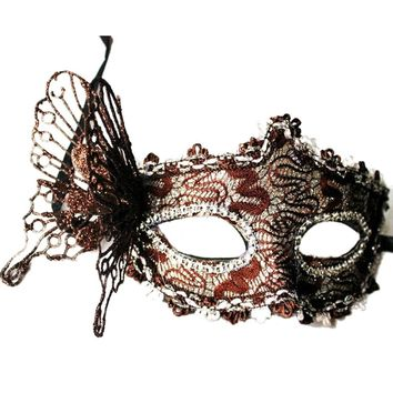 Sexy Women Lace Mask Venetian Masquerade Ball Party Carnival Face Mask Gift 111901