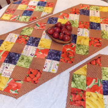 Fruit Basket Table Runner