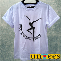 DMB Dave Matthews Band Fire Dancer Logo Women T Shirt