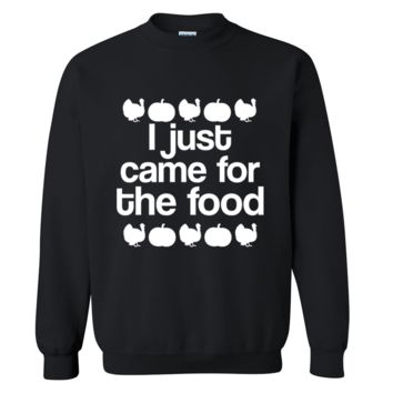 I Just Came For The Food Halloween Sweater