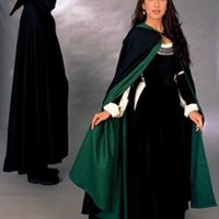 Twill Cloak (Reversible): Renaissance Costumes, Medieval Clothing, Madrigal Costumes by The Tudor Shoppe