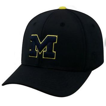 save off 2d221 74a04 Licensed Michigan Wolverines Official NCAA One Fit Impact Hat by