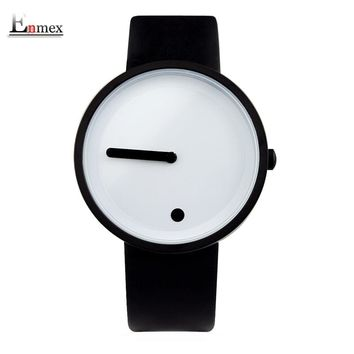 2017gift Enmex cool colour Minimalist style wristwatch creative design Dot and Line simple stylish with  quartz  fashion watch