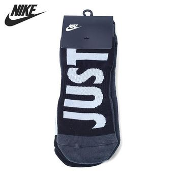Original New Arrival 2017 NIKE 2PPK NO SHOW Men's  Sports Socks  2 Pairs