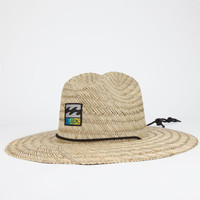 Billabong Patches Mens Lifeguard Hat Natural One Size For Men 25363442301