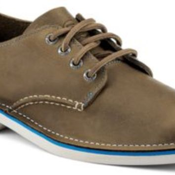 Sperry Top-Sider Cloud Logo Harbor Oxford Brown, Size 7.5M  Men's Shoes