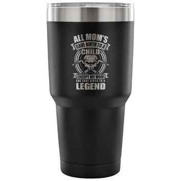 Welding Legend Insulated Coffee Travel Mug My Mom 30 oz Stainless Steel Tumbler