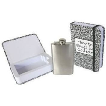 Excel in College Hidden Flask (Standard)