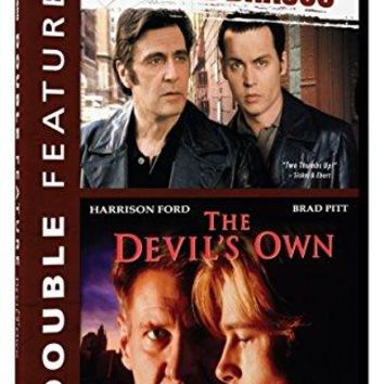 Al Pacino & Johnny Depp & Mike Newell & Alan J. Pakula-Donnie Brasco/The Devil's Own - Double Feature