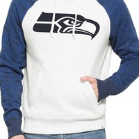 Men's 47 Brand 'Seattle Seahawks - Hashmark' Graphic Fleece Hoodie,