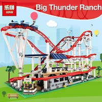 DHL Lepin Toys for Children 15039 The 10261 Rollere Funny Coaster Building Blocks Self-Locking Bricks toys kids christmas gifts