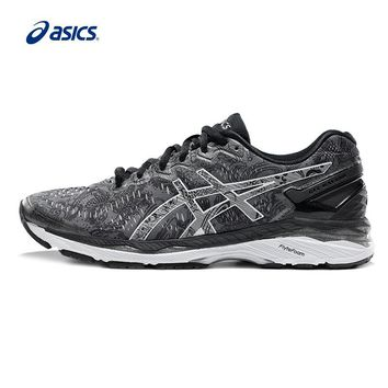 qiyif Original ASICS GEL-KAYANO 23 Men's Night Running Stability Running Shoes ASICS Sports Shoes Sneakers free shipping