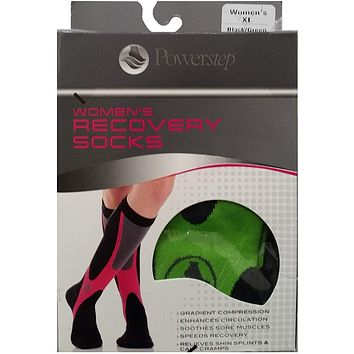Powerstep Women's Recovery Compression Socks