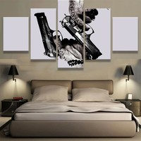 Boondock Saints Gun Canvas Print