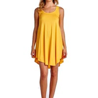 Awesome Tank Dress, Yellow