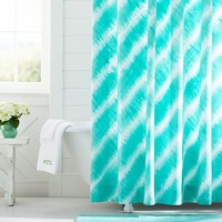 Tie Dye Shower Curtain, Pool