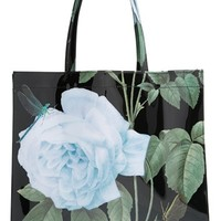 Women's Ted Baker London 'Large Distinguish Rose Icon' Tote
