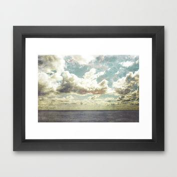I´m lost Framed Art Print by HappyMelvin