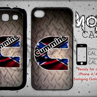 Cummins - iPhone cases 4/4S Case iPhone 5/5S/5C Case Samsung Galaxy S3/S4 Case