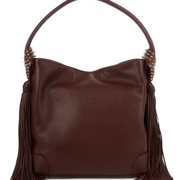 Eloise hobo leather shoulder bag | Christian Louboutin | MATCHESFASHION.COM US