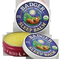 Organic Sleep Balm By Badger - an all-natural sleep aid @BadgerBalmUSA