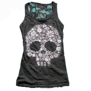 Skull - Skeleton - Women's Novelty Tank Top