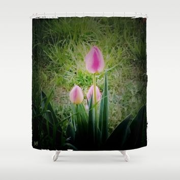 Tranquility Shower Curtain by Jessica Ivy