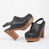 Studded Mule Clogs