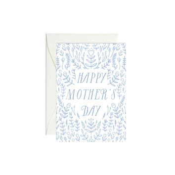 Blue Tulip Mother's Day Mini Enclosure Card