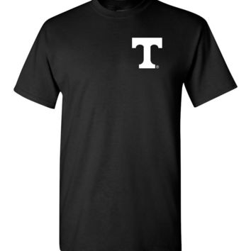 Official NCAA University of Tennessee Volunteers, Knoxville Vols UT UTK Women's Go Big Orange Knoxville White Short-Slee