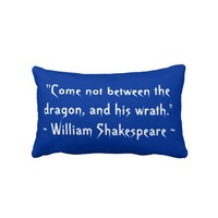 Dragon Lord American MoJo Pillow from Zazzle.com