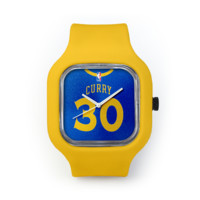 Stephen Curry Watch in a Yellow Strap