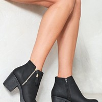 Put Up With It Vegan Leather Boot
