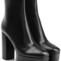 Leather Platform Ankle Boots - Alexander Wang | WOMEN | DE STYLEBOP.COM