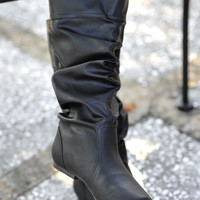 Saddle Up Boots: Midnight Black | Hope's