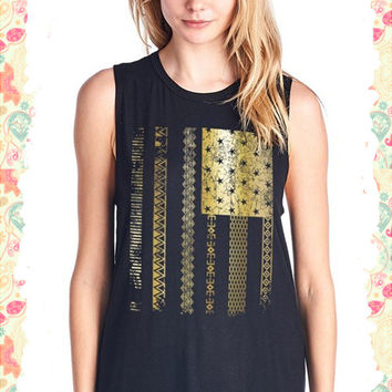 Go for the Gold Flag Tank