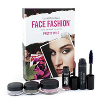 BareMinerals Face Fashion Collection - The Look Of Now Pretty Wild (Blush + 2x Eye Color + Mascara + Lipcolor) - 5pcs