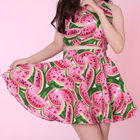 Glitters For Dinner — Made To Order - Watermelon Skirt by GFD